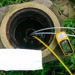 Análise de água de poço