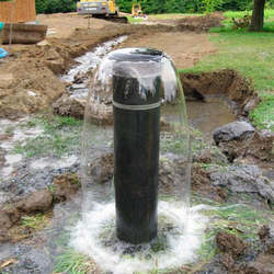 Perfuração de poço artesiano