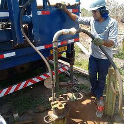 Empresa de limpeza de poço tubular