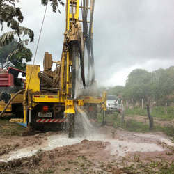 Perfuração de poços de água