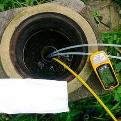 Analise de água de poço