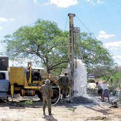 Construção de poços