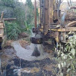Construção de poço