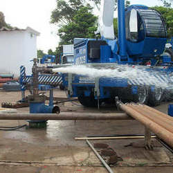 Empresa de limpeza de poço
