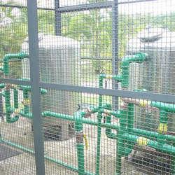 Sistema de tratamento de água de poço
