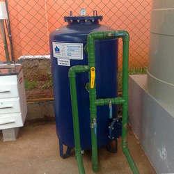 Sistema de tratamento de água de poços