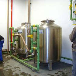 Sistema de tratamento de água de poços artesianos